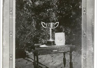 +Birdsville-Cup-in-1939-on-a-table-in-front-of-a-bush.