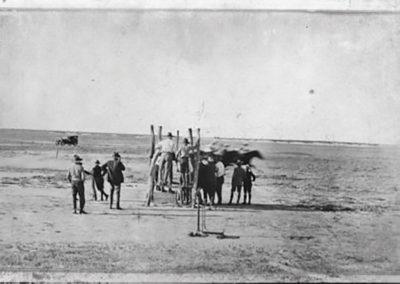 +Race-Day-at-Birdsville,-1926